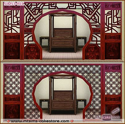 Sims 3 build, objects, arches, windows, doors