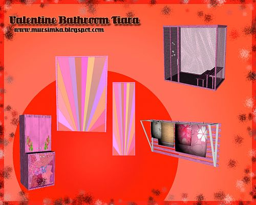 Sims 3 bathroom, furniture, objects, decor