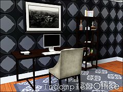 Sims 3 office, furniture, objects, decor