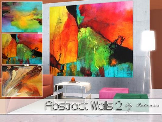 Sims 3 decor, paintings, wall