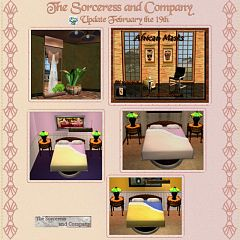 Sims 3 mask, bed, mirror, beddings, decor, decoration, objects