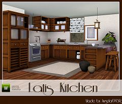Sims 3 kitchen, furniture, sims, room