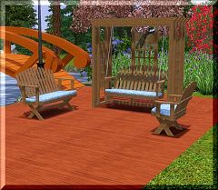 Sims 3 outdoor, garden, chair, lounge, seating