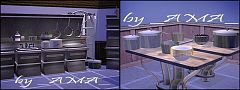 Sims 3 kitchen, furniture, sims, room, decor, clutter