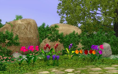 Sims 3 flowers, plants