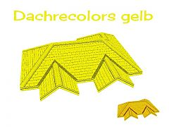Sims 3 roof, build, yellow