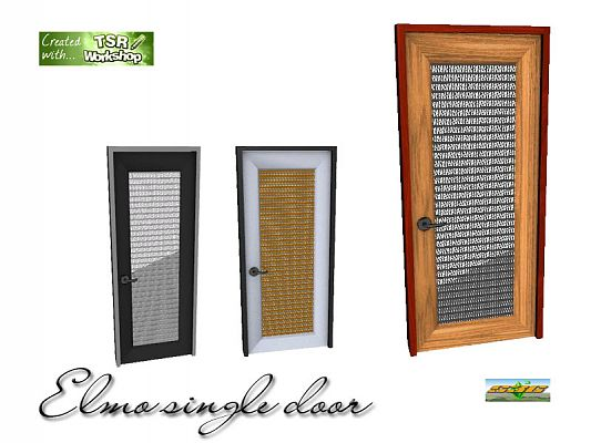 Sims 3 build, objects, doors
