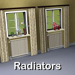 Sims 3 radiator, heater, object, decor