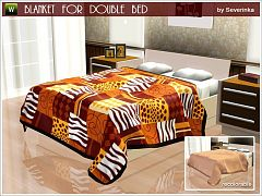 Sims 3 blanket, decor, objects