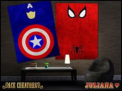 Sims 3 posters, paintings, decor, objects