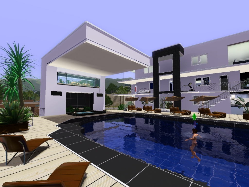 16 Photos And Inspiration Cool Sims 3 House House Plans