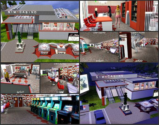 Sims 3 community, lot, building