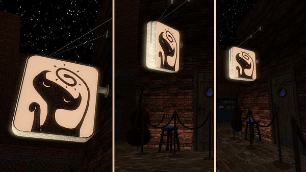 Sims 3 sign, outdoor, objects