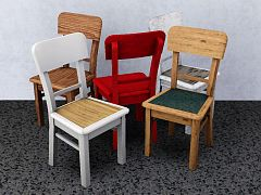 Sims 3 chair, kitchen, decot, objects