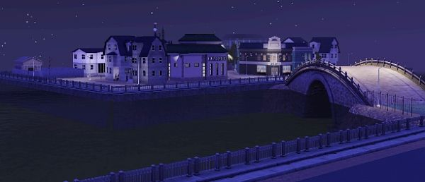 Sims 3 base, military, world