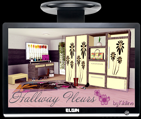 Sims 3 hall, furniture, set