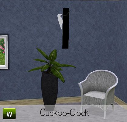 Sims 3 watch, clock, object, decor