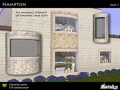 Sims 3 window, set , arhitecture, build