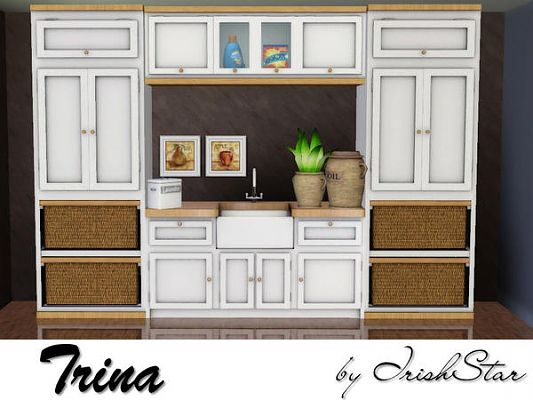 Sims 3 utility, shelves, storage, sink, furniture