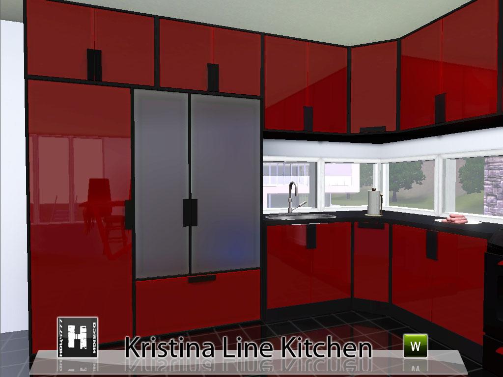 Cuisine design sims 3 for Modern kitchen sims 3