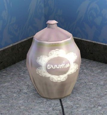 Sims 3 jar, cookie, decor, objects