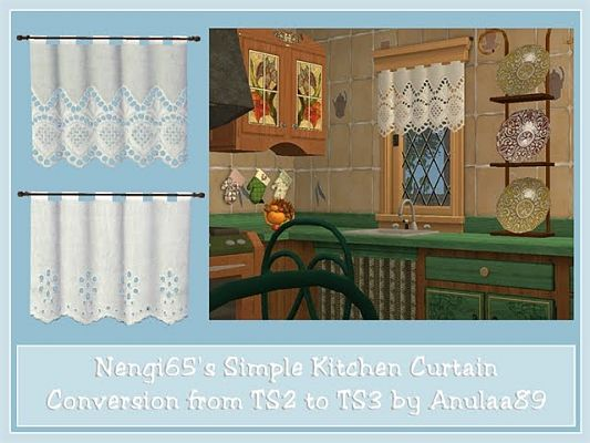 Sims 3 Curtains, Blinds, Shutters, objects, decor