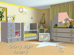 Sims 3 bedroom , nursery, furniture, objects, decor