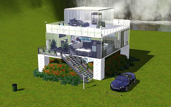 Sims 3 house, lot, residential, sims, models