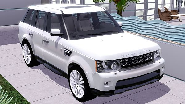 Sims 3 car, auto, vehicle, sims 3, range, rover