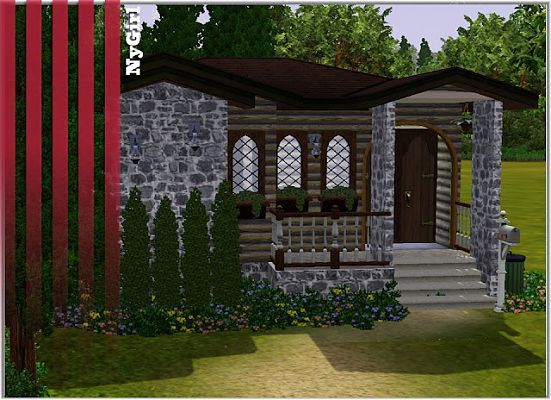 Sims 3 house, lot, residential, cottage