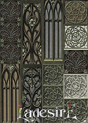 Sims 3 wall, decor, decoration, gothic, floors
