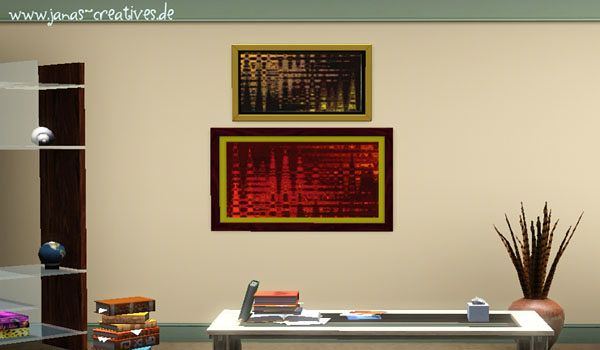 Sims 3 paint, paintings, decor, objects, decorations, posters