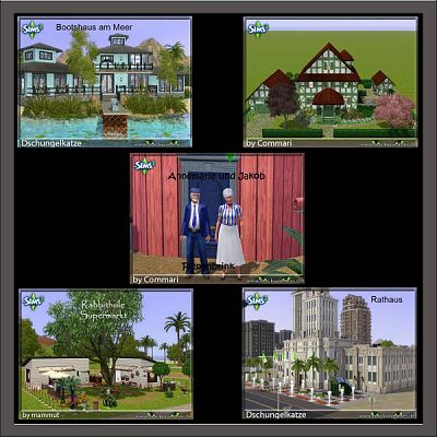 Sims 3 house, lot, residential, decor, sims