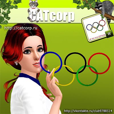 Sims 3 paint, paintings, decor, objects, decorations, olympic, games