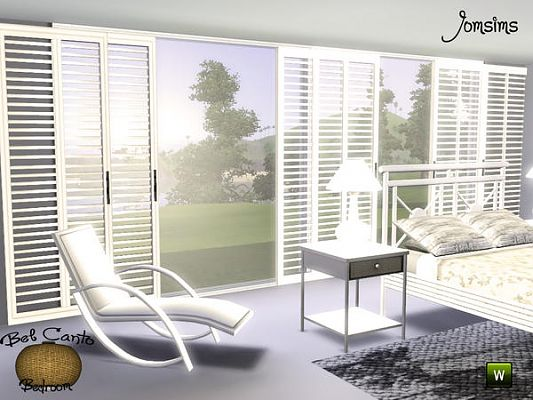 Sims 3 bed, bedroom, furniture, set