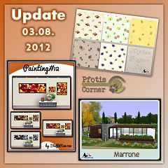 Sims 3 paint, paintings, decor, objects, decorations, house, pattern