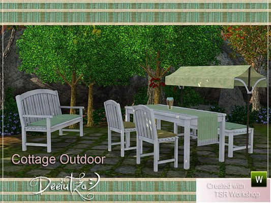 Sims 3 outdoor, furniture, objects, decor