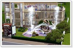 Sims 3 shop, shopping, center, building