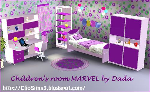 Sims 3 kids, room, nursery