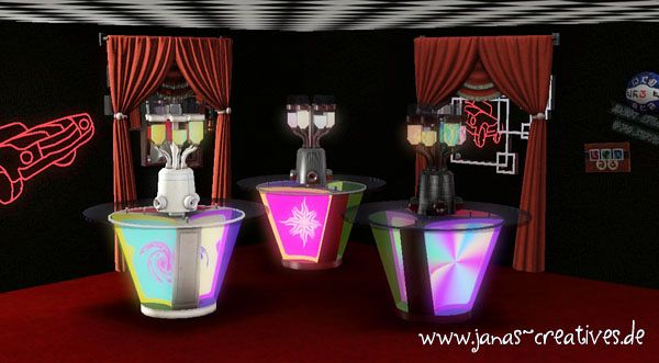 Sims 3 decor, items, bar