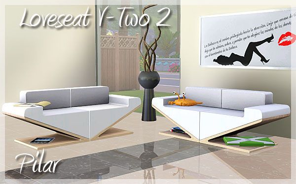 Sims 3 sofa, seats,furniture