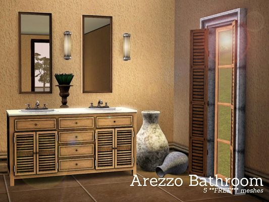 Sims 3 bathroom, objects, decorative, buy, mode