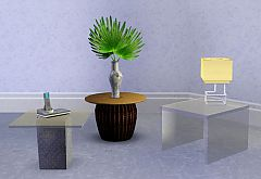 Sims 3 coffee table, table, decor, furniture