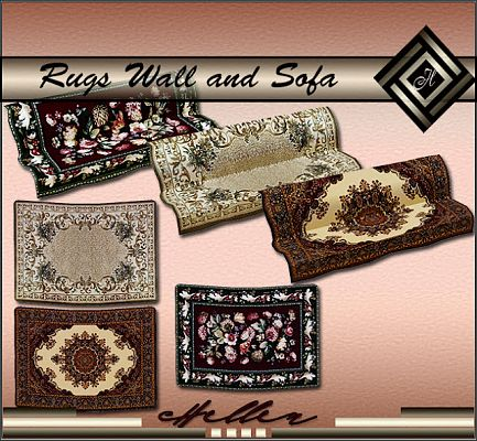 Sims 3 rug, rugs, decor, objects, sofa