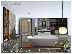 Sims 3 bath, bathroom, set, room, objects
