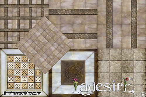 Sims 3 patterns, floor, stone