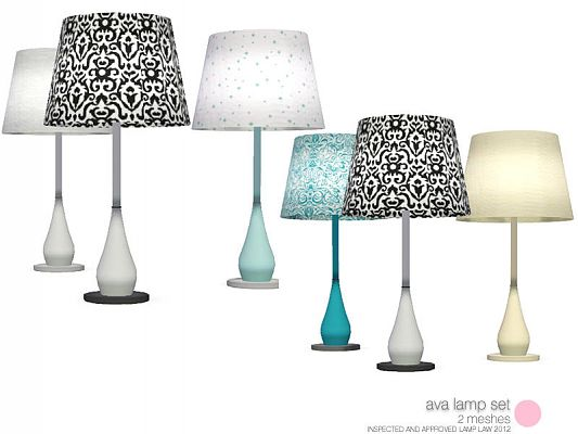 Sims 3 lamps, lighting, objects