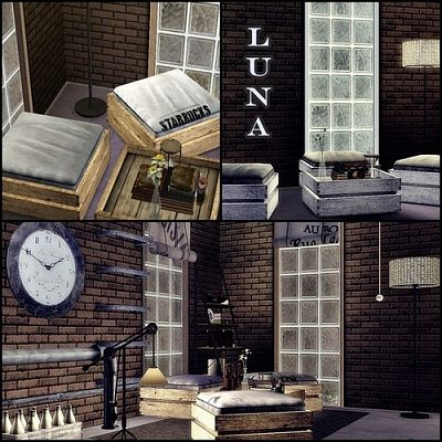 Sims 3 furniture, sims3, living