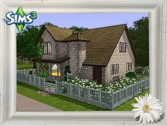 Sims 3 house, lot, residential, community, family