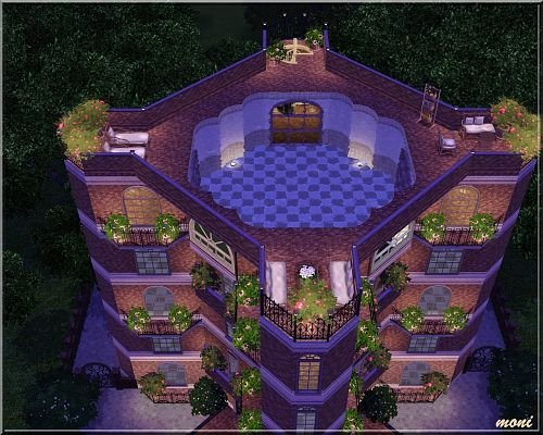 Sims 3 house, lot, resident, apartment